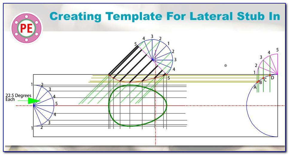 Pipe Cutting Template Program