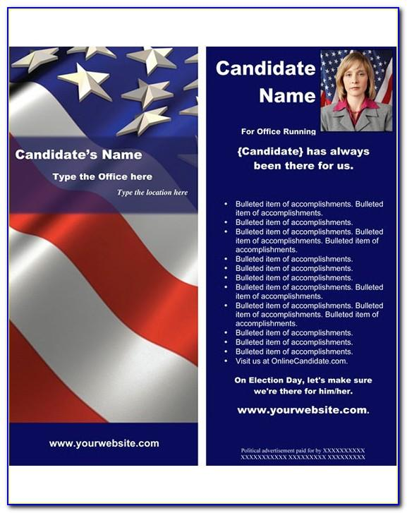 Political Brochure Templates Free