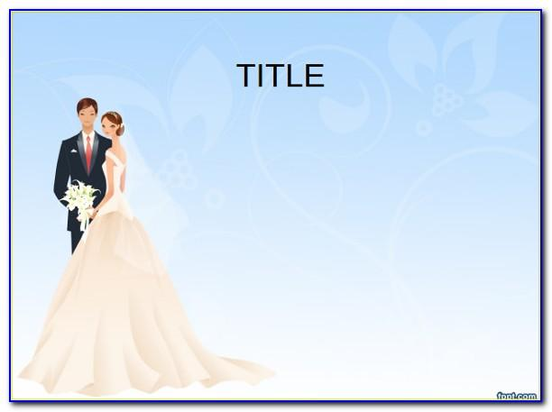 Powerpoint Wedding Photo Slideshow Template