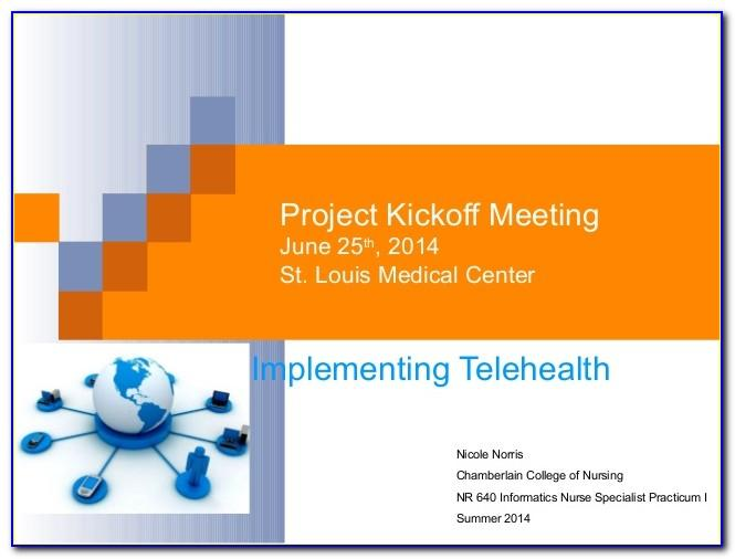Project Management Kick Off Meeting Template Ppt