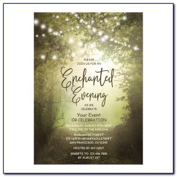 Prom Night Invitation Template