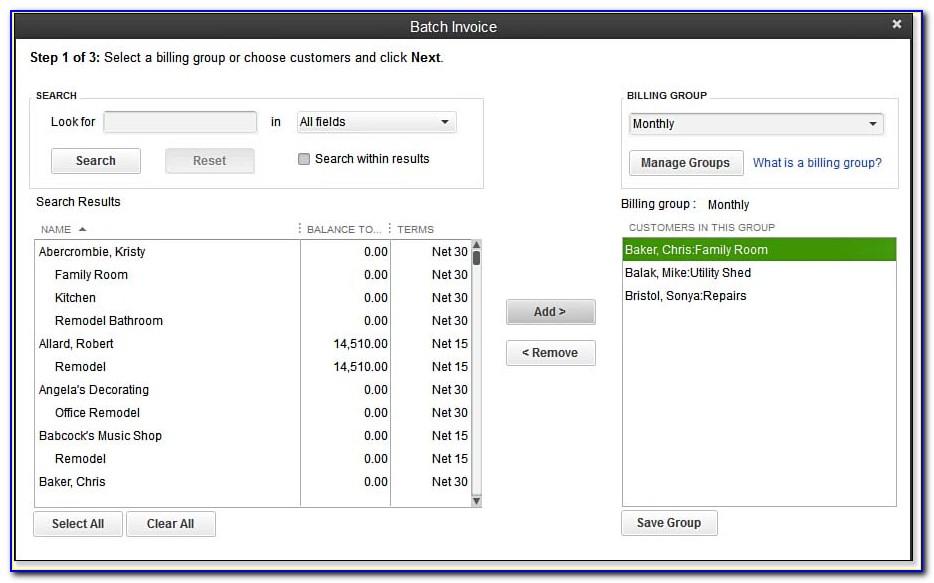 Quickbooks Edit Recurring Invoice