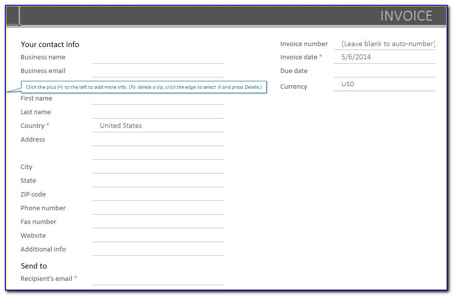 Quickbooks Online Invoice Layout