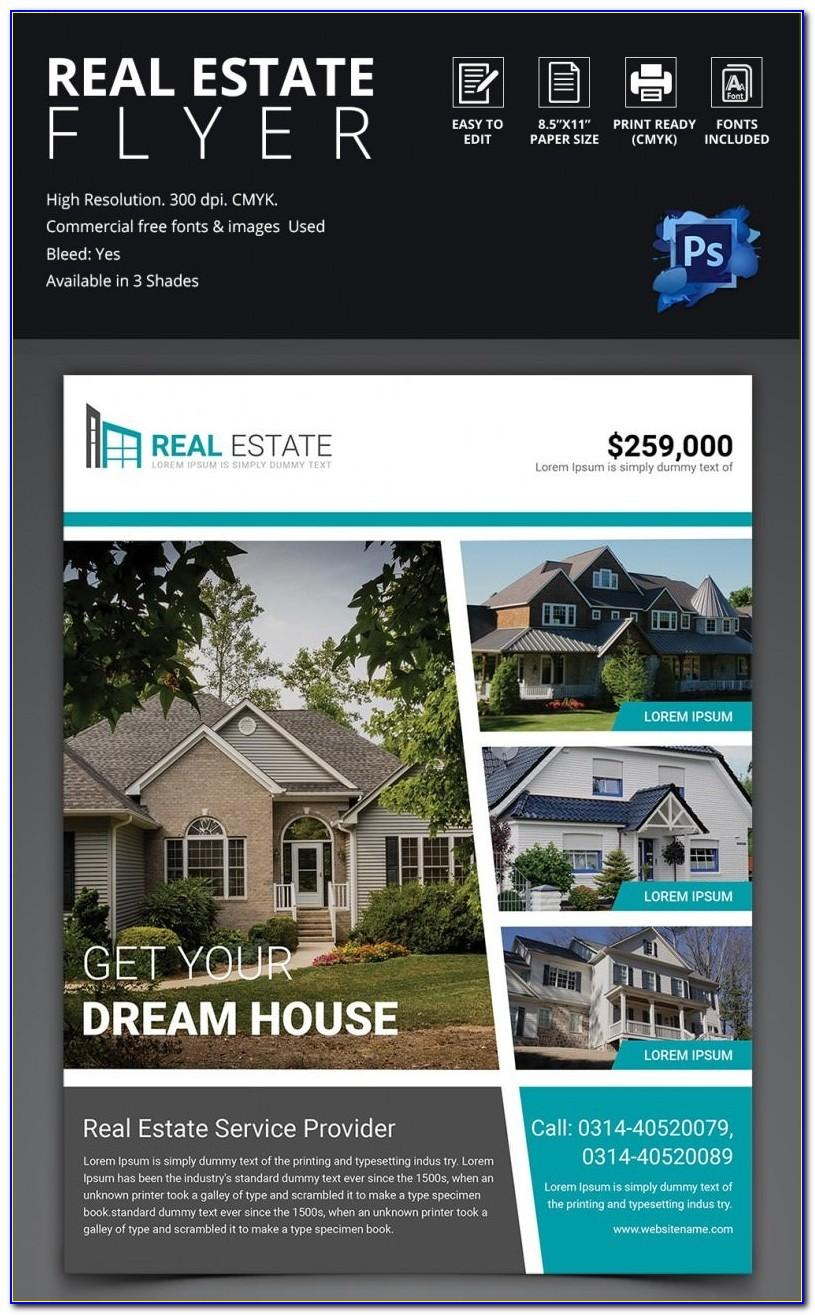 Real Estate Flyer Template Psd Free Download