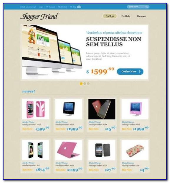 Responsive Ecommerce Website Templates Free Download Html With Css