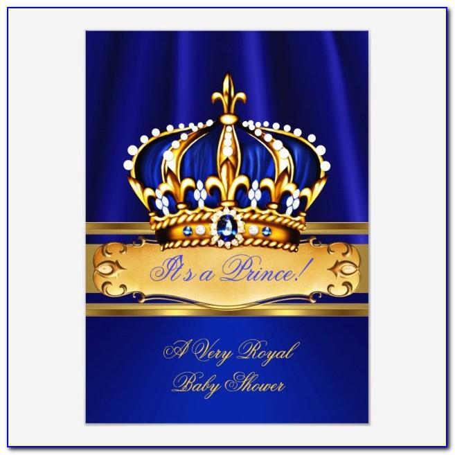Royal Prince Crown Template