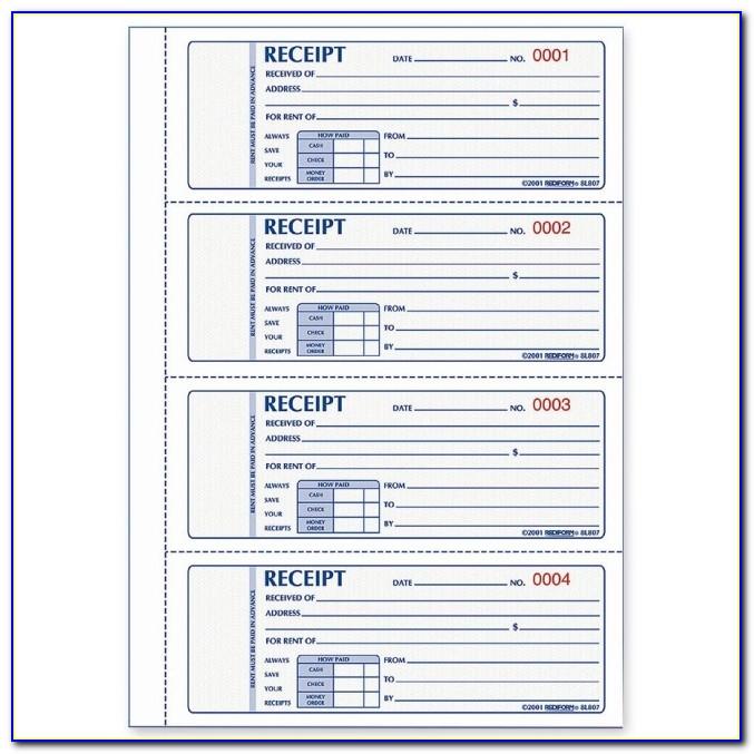 Staples Custom Invoice Book