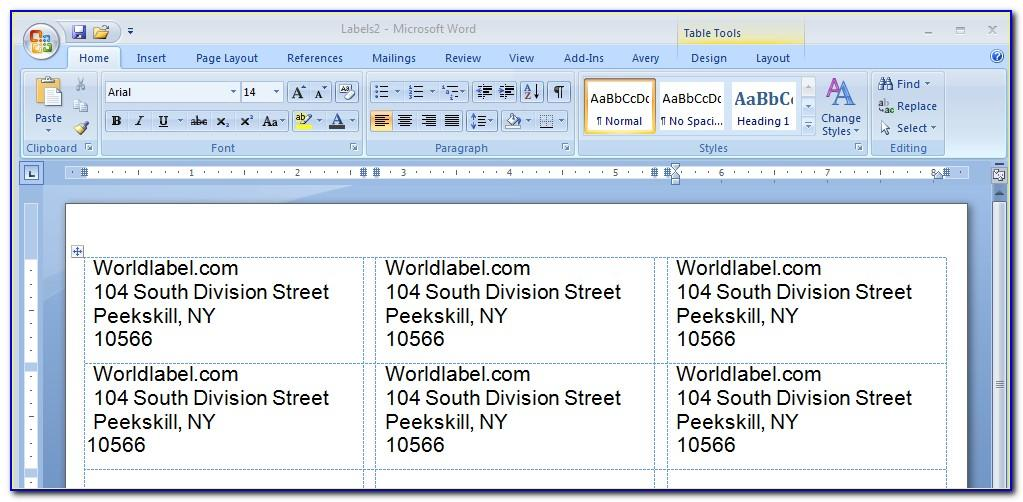 Staples Mailing Labels Templates