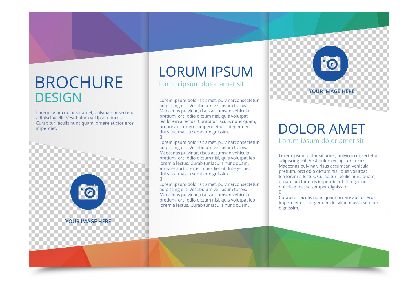 Template For Brochure Design Free Download