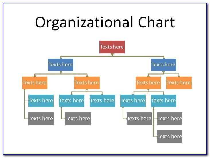 Template For Organizational Charts