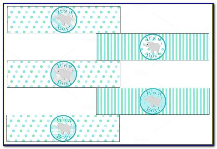 Template For Small Water Bottle Labels Free