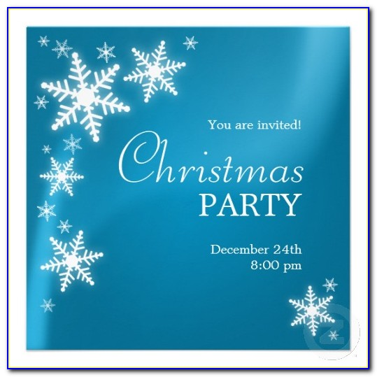 Vip Party Invitations Template