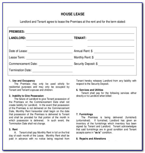 Warehouse Leasing Contract Template