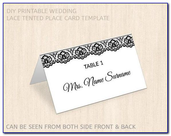 Wedding Card Template Word Document