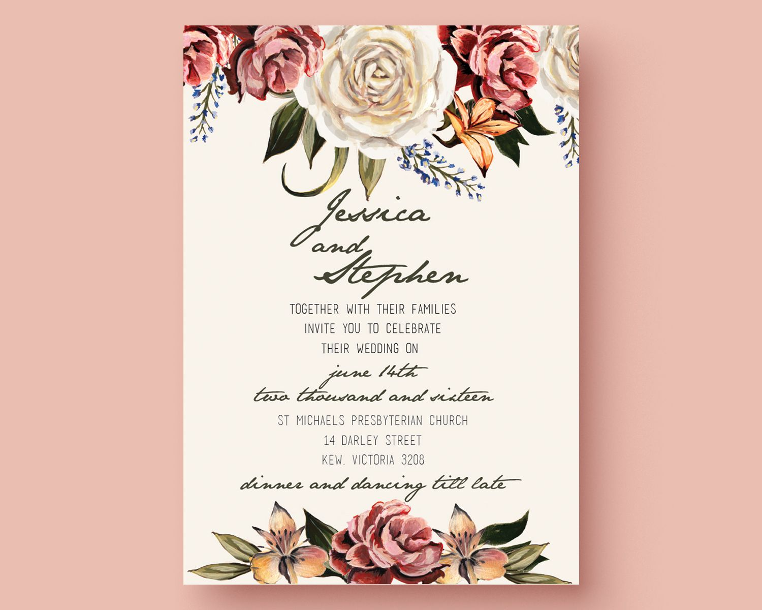 Wedding Invitation Video Templates After Effects