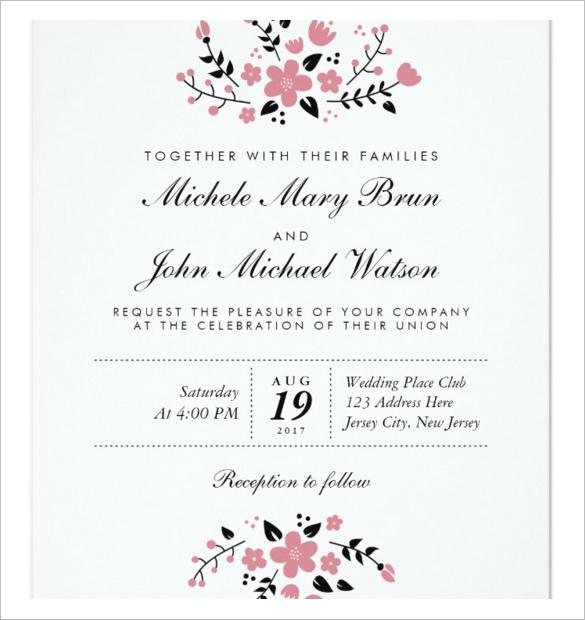 Wedding Invitation Video Templates Premiere Pro