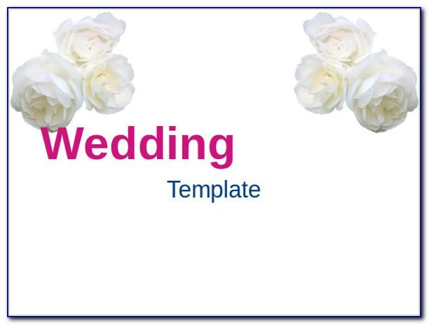 Wedding Picture Slideshow Powerpoint Template