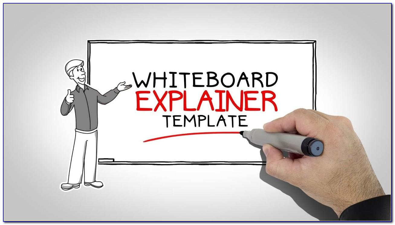Whiteboard Template After Effects