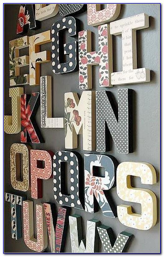 12 Paper Mache Letters Amazon