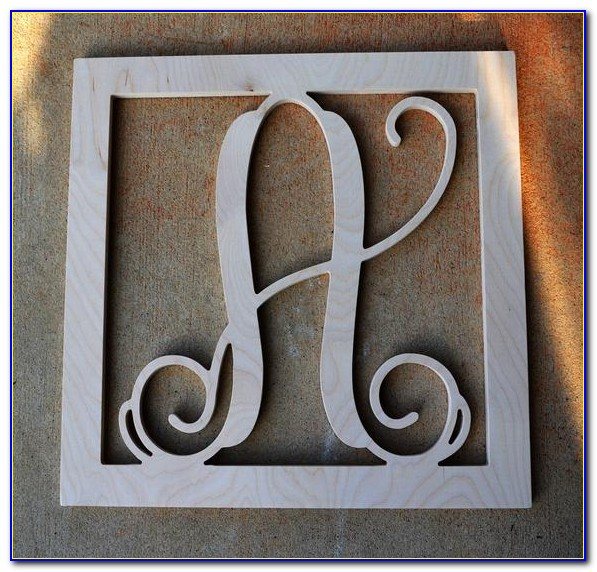 18 Inch Wooden Wall Letters