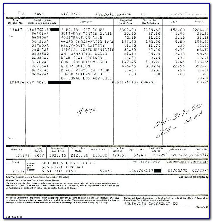 2019 Toyota Camry Se Dealer Invoice