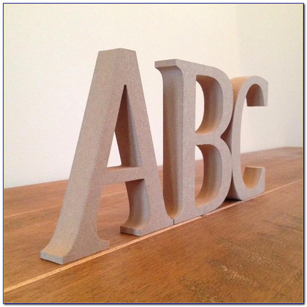3 Inch Tall Wooden Letters