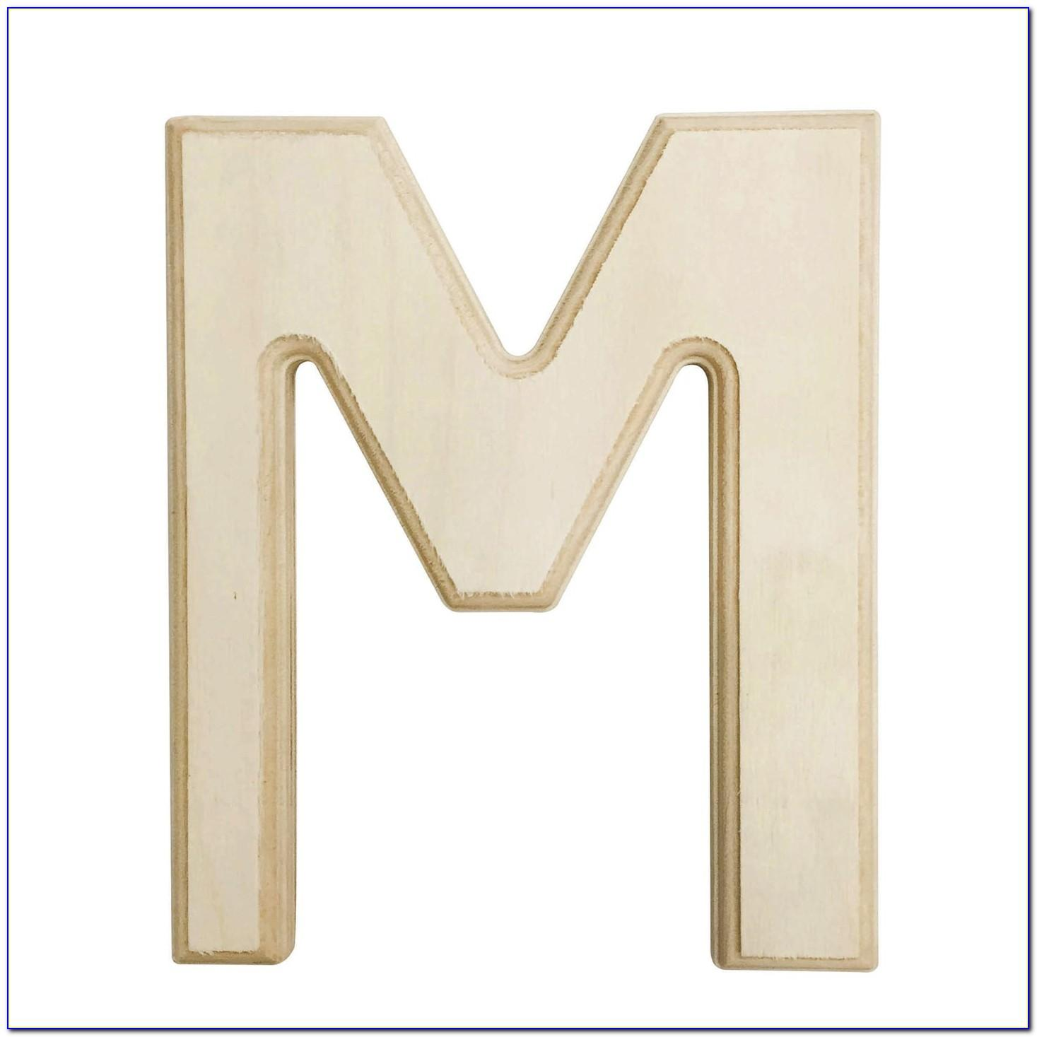 6 Inch Wooden Letters Canada