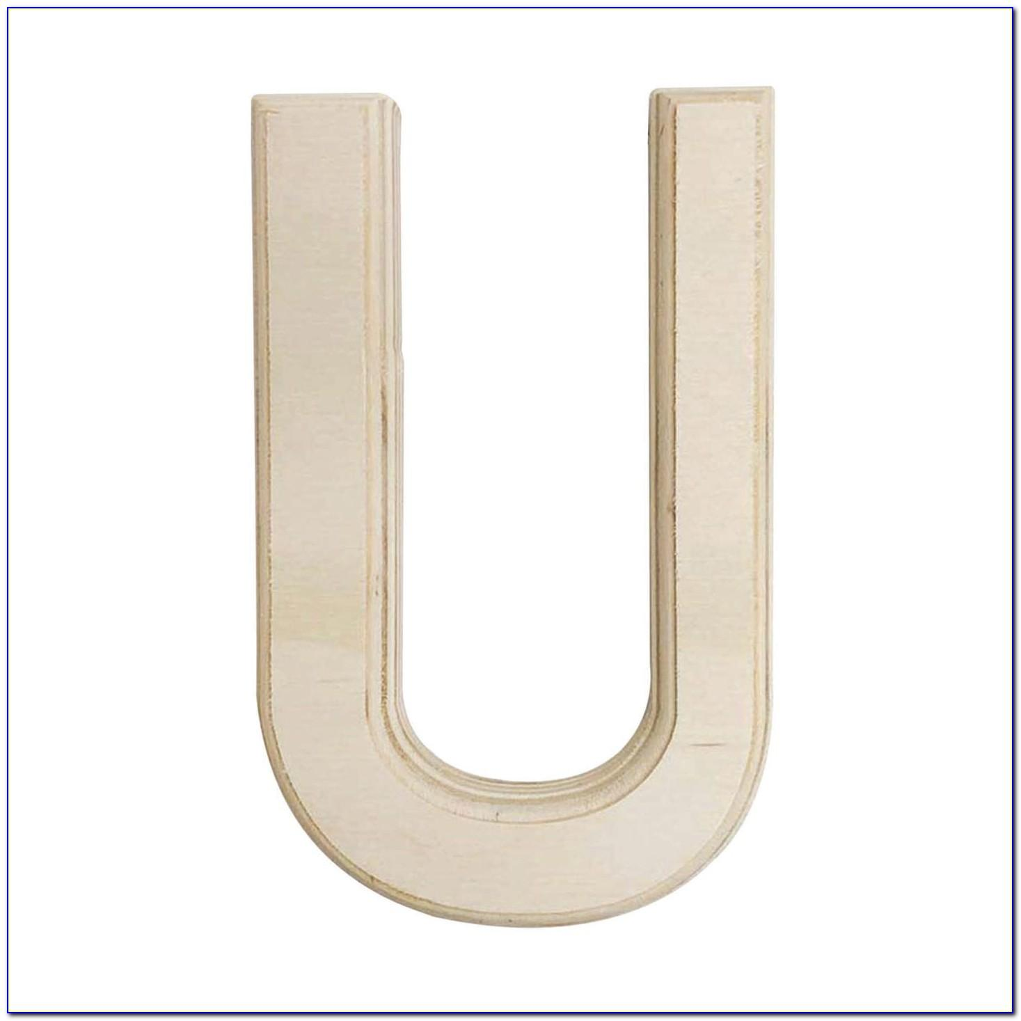 6 Inch Wooden Letters For Sale