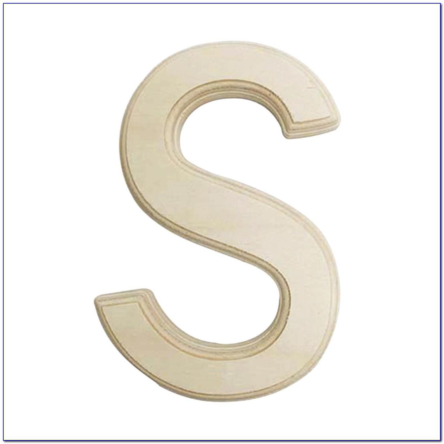 6 Inch Wooden Letters Hobby Lobby