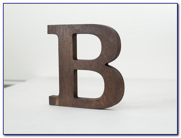 8 Wooden Block Letters