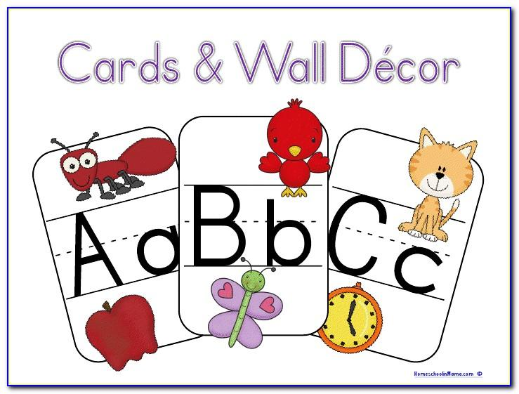 Abc Block Letters Printable