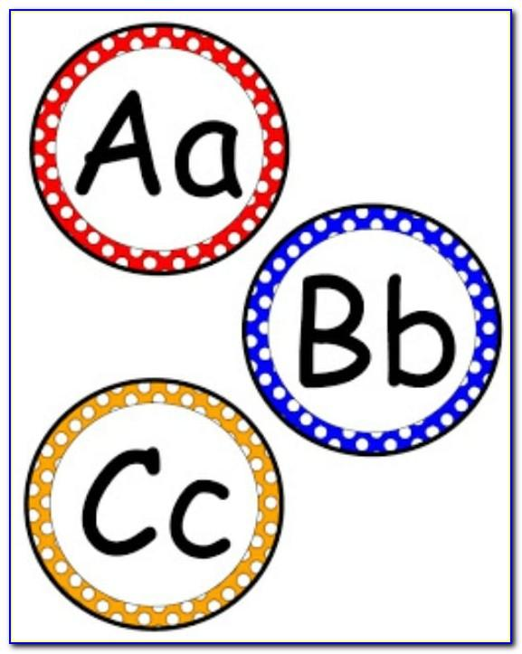 Abc Bubble Letters Printable