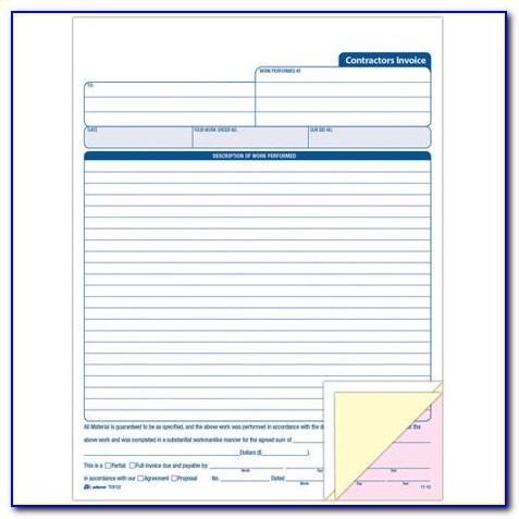 Adams Invoice Template