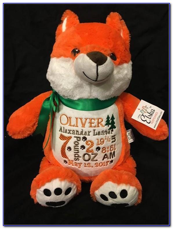 Baby Announcement Stuffed Animal