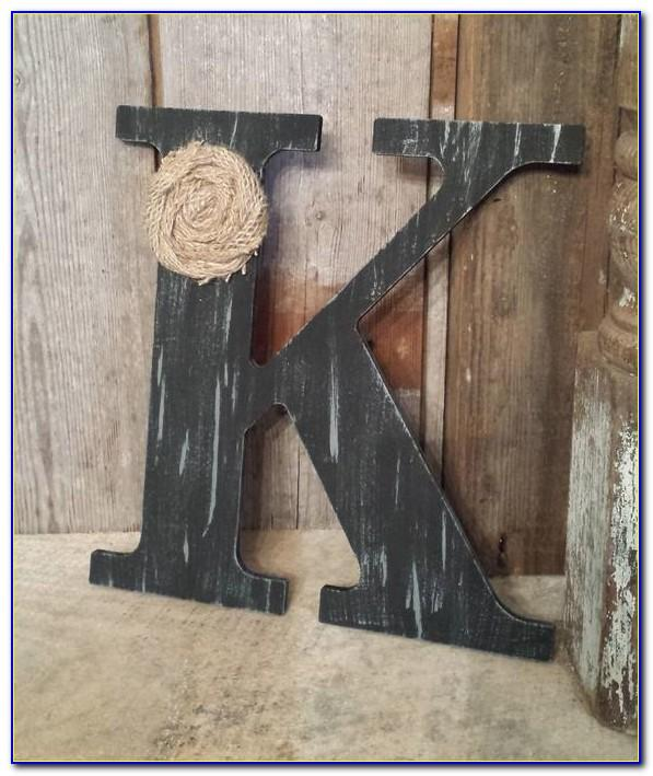 Black Wooden Letters Australia