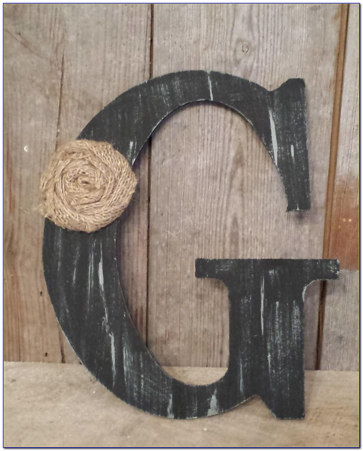 Black Wooden Letters For Decorating