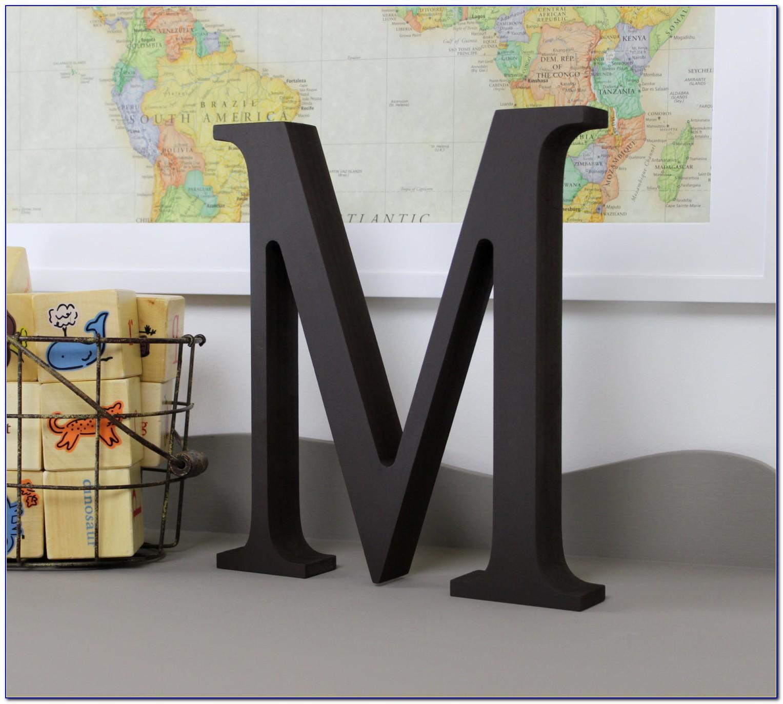 Black Wooden Letters Uk