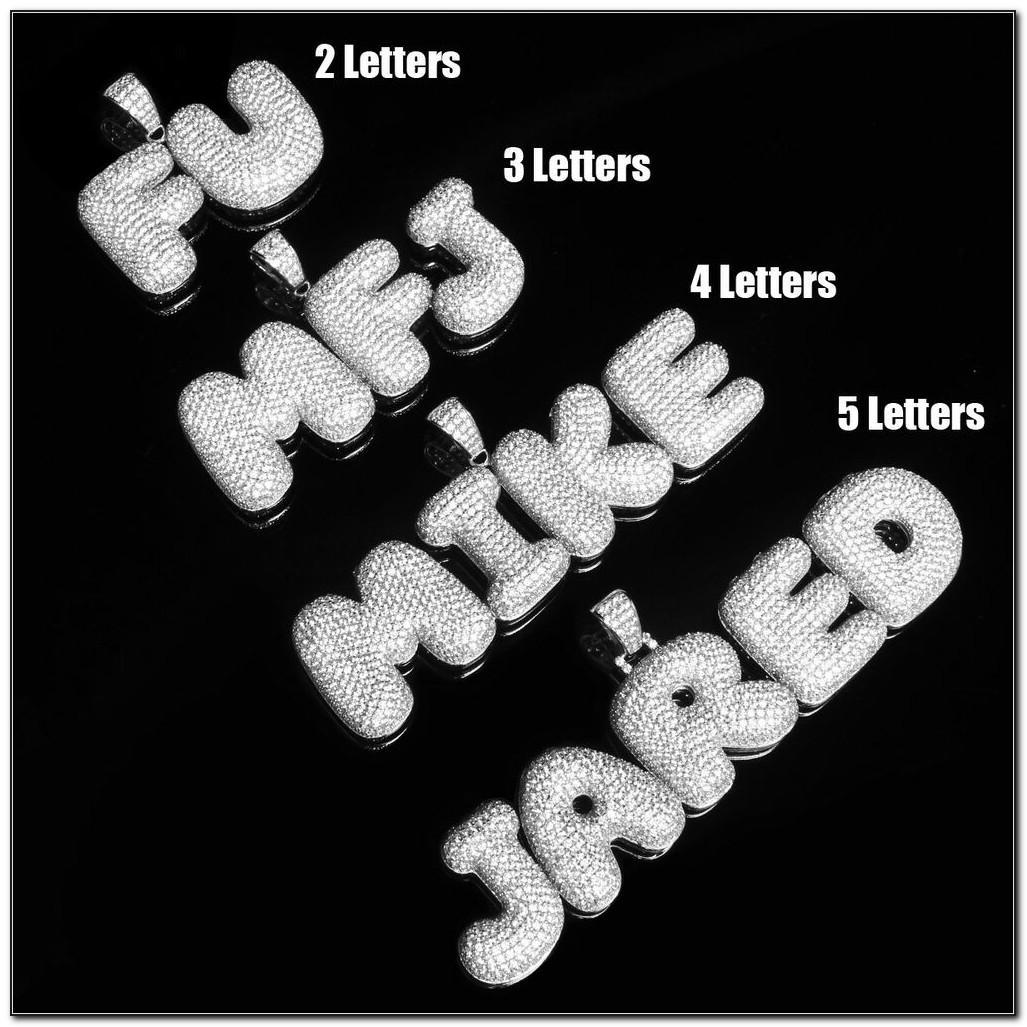 Bubble Font Stencils