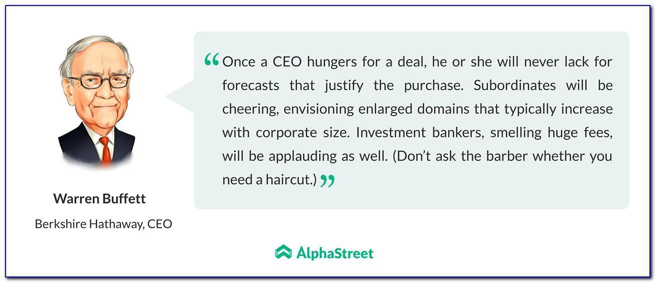 Buffett Letter To Shareholders