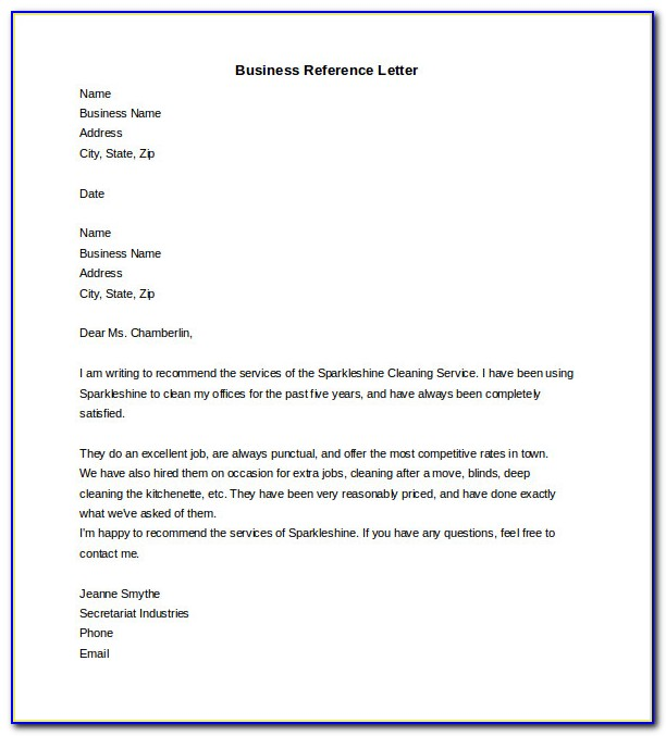 Business Letter Template Word With Logo