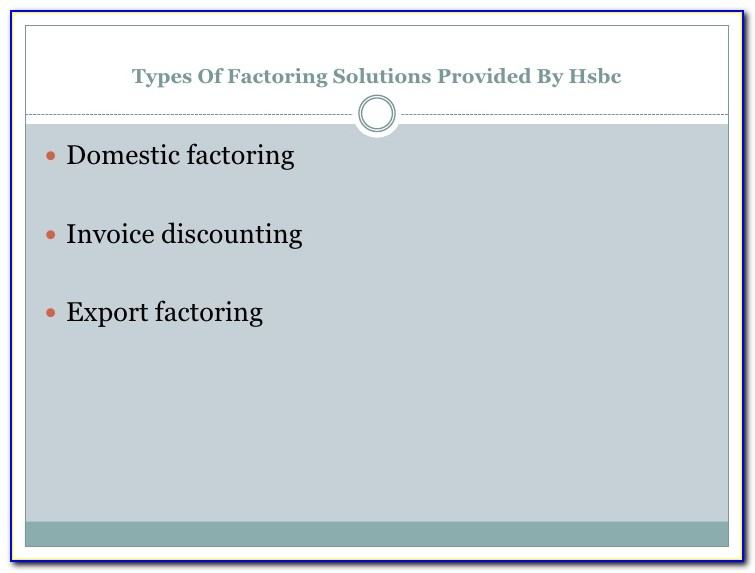 Business To Consumer Invoice Factoring