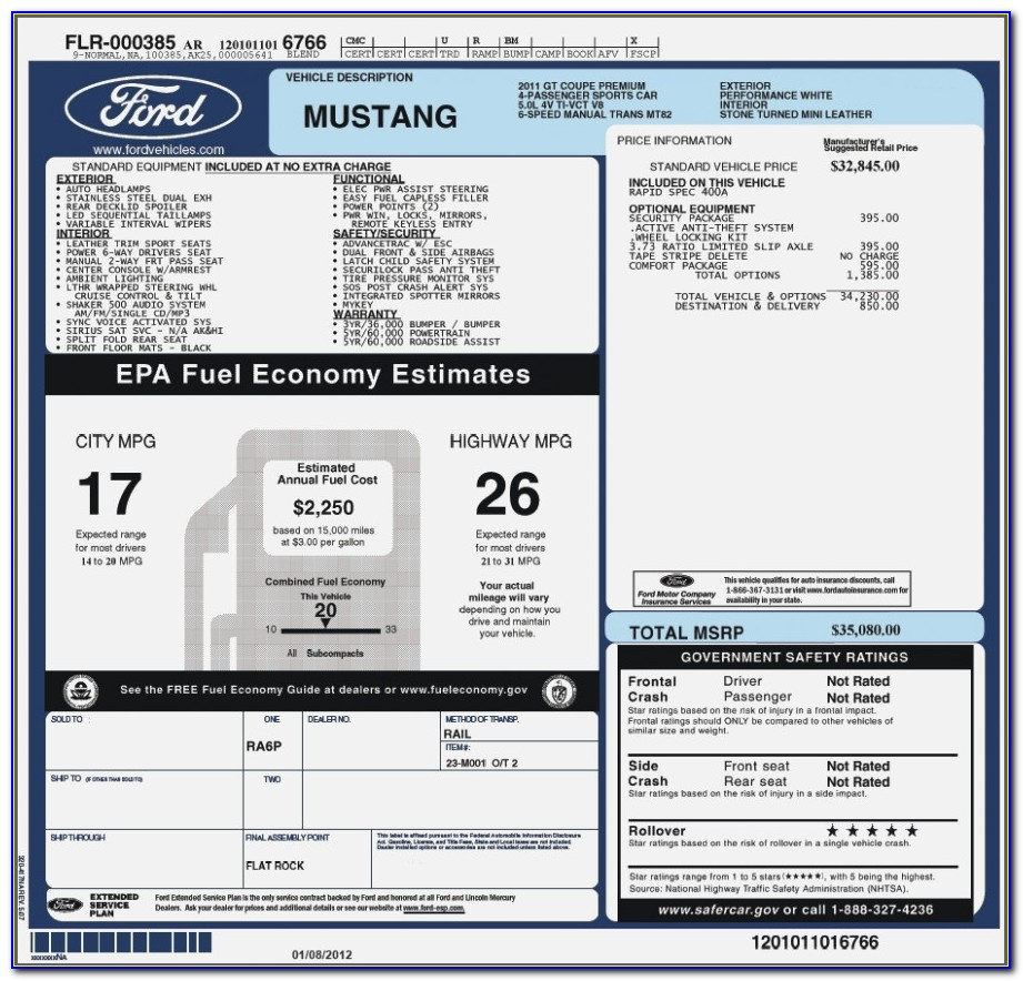 Car Factory Invoice Vs Msrp