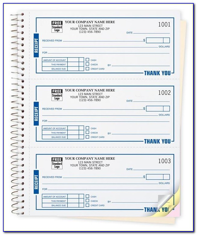 Carbonless Receipt Book Officemax