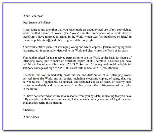Cease And Desist Letter Harassment Uk