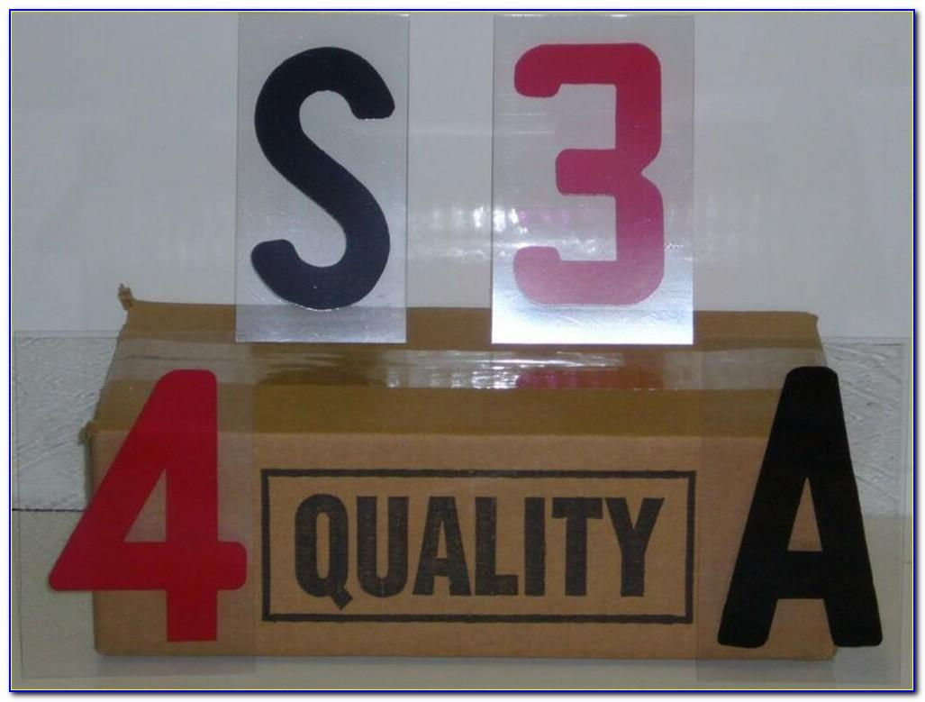 Changeable Outdoor Sign Letters 4