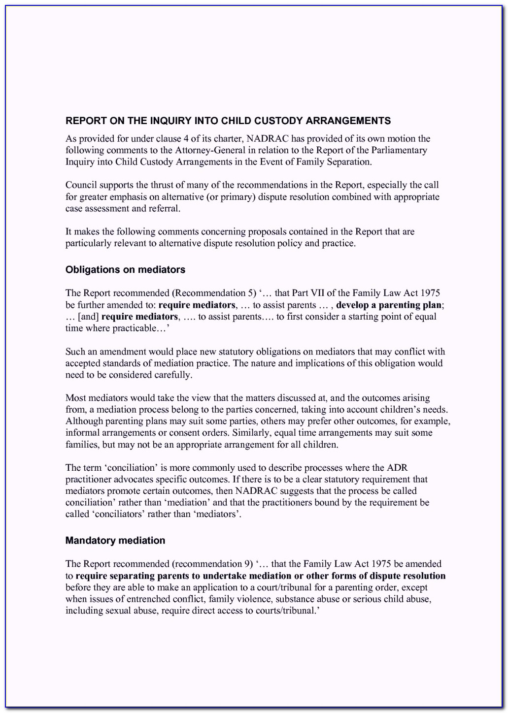Character Reference Letter For Court Child Custody Template
