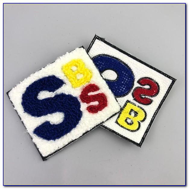 Chenille Letter Patches Wholesale