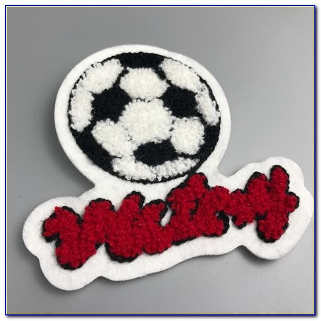 Chenille Varsity Letter Patches