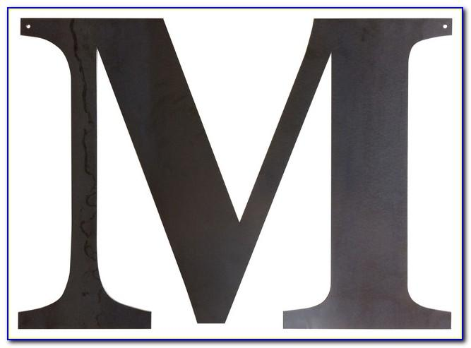 Cool Letter M Wall Decor