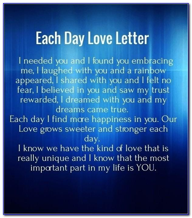 Cute Love Letters For Her That Make Her Cry